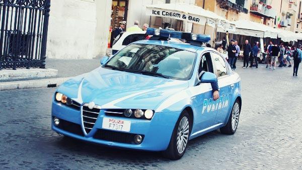 イタリアのパトカー