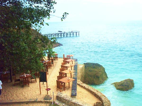 バリ島ホテルのレストラン
