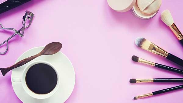コーヒーと化粧品