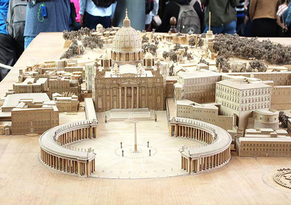 バチカン市国の模型