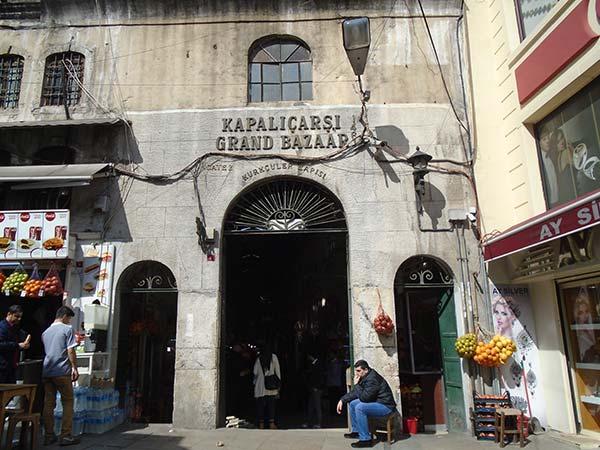 トルコのグランドバザール
