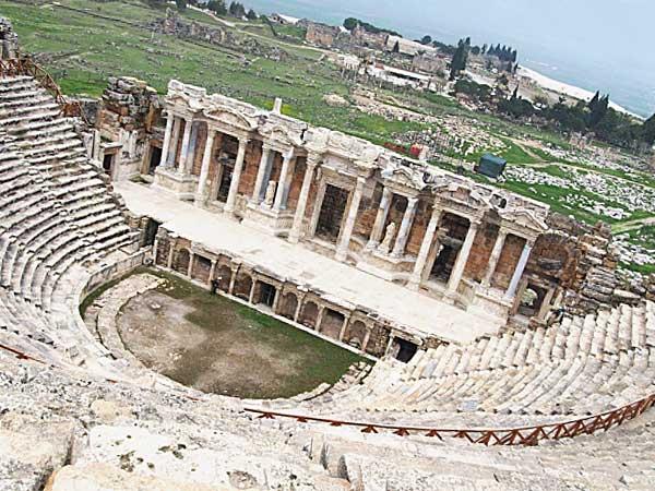 トルコの遺跡