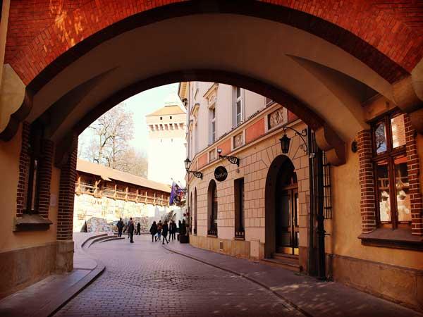 世界文化遺産に登録されている旧市街エリア