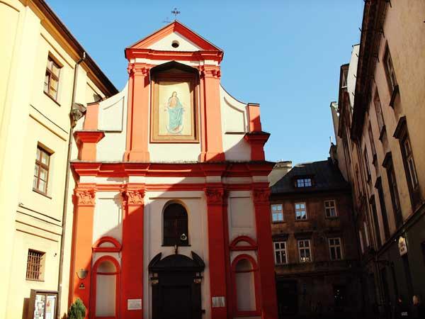 クラクフ旧市街の聖マリア教会