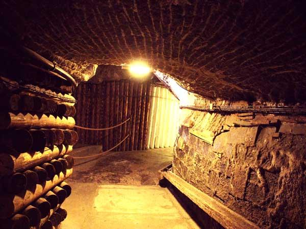 ユネスコの世界遺産に登録されている世界最古の岩塩坑の中