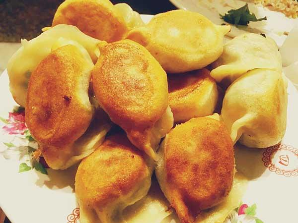 中華料理の北方麺家の餃子