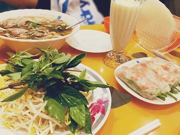 ベトナム料理レストラン「Gia Hoi」の生春巻きなど人気メニュー
