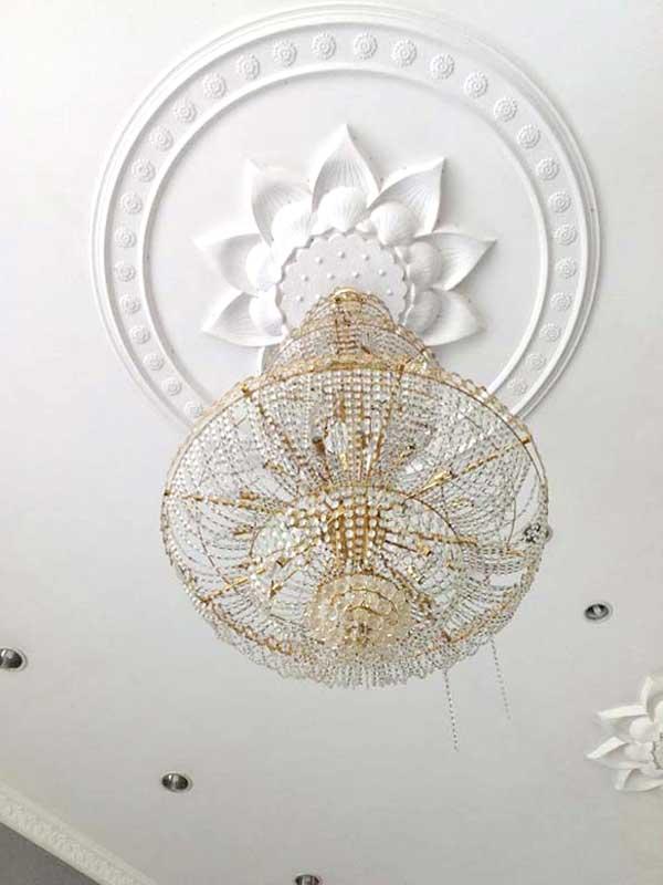 ヒンドゥ寺院の天井
