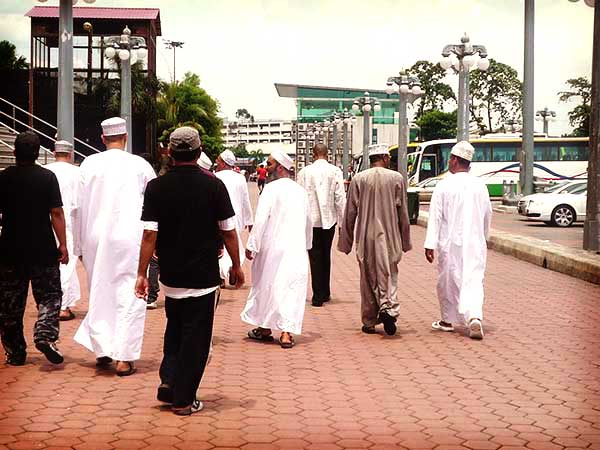 イスラム各国からの旅行客