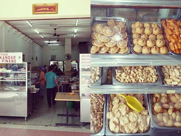 インド人街の食堂と食材