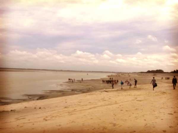 フランス北部のソンム湾