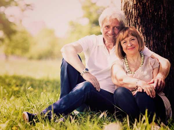 フランス人の熟年夫婦