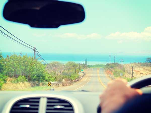 天気のいい日のドライブ