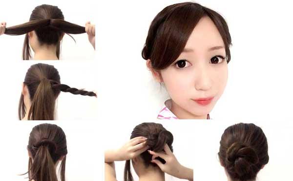 浴衣に似合う髪型4パターン!自分で簡単にできる