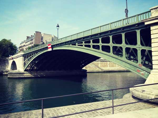 パリのスリー橋