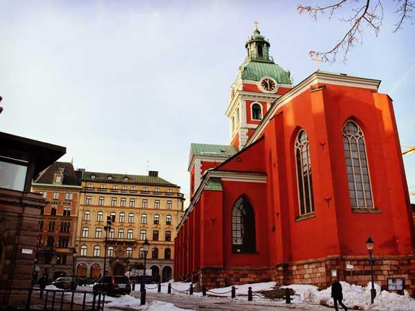 冬の聖ヤコブ教会