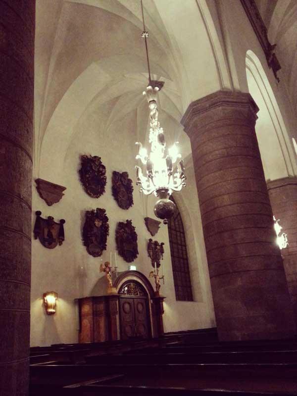 美しい聖ヤコブ教会内