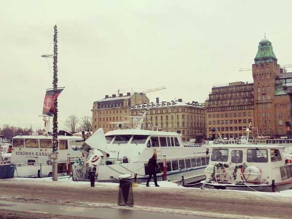 スカンセンに到着して見た景色
