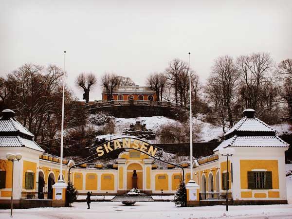 スカンセンのゲート