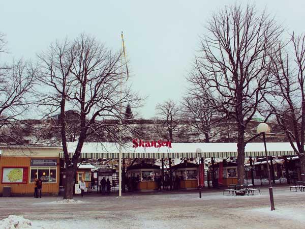 スカンセンのメインゲート