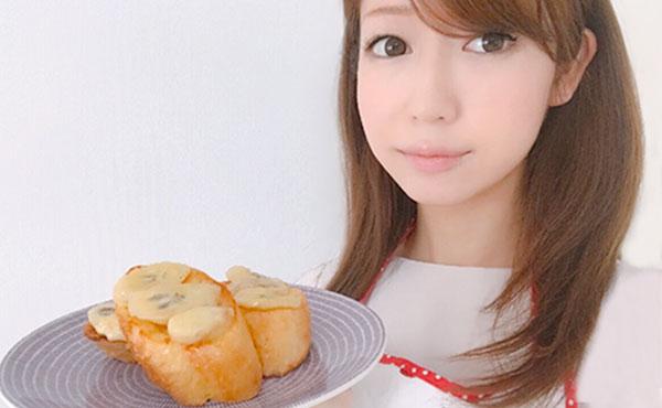 フレンチトースト簡単レシピ・朝食にぴったりココナッツバナナ味