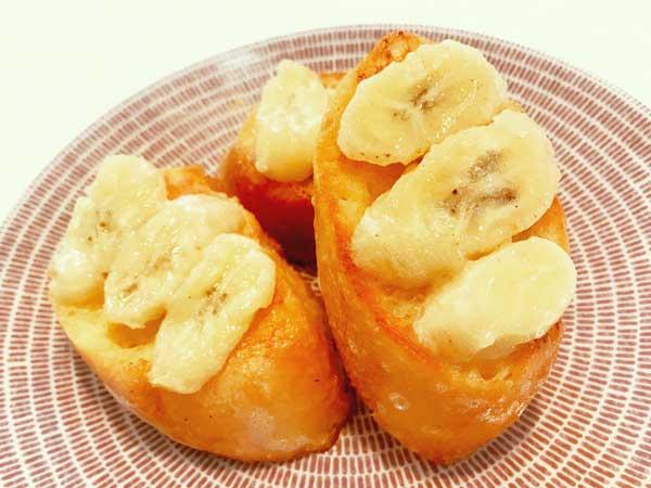ココナッツバナナフレンチトースト