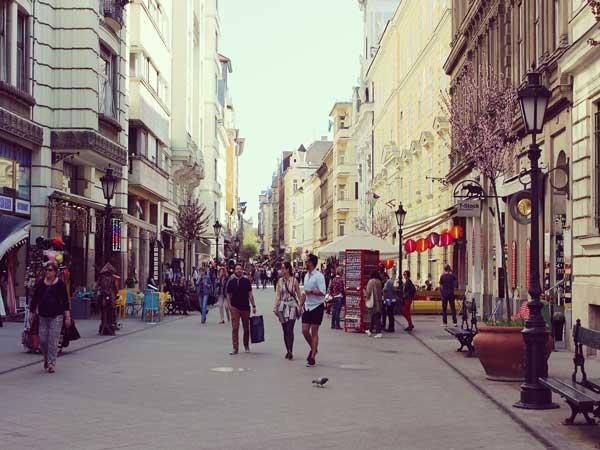 日中のブダペスト