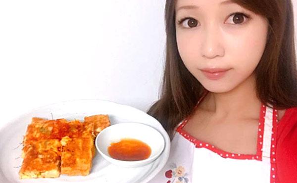 ニラとキムチの里芋チヂミの作り方|ヘルシーなのに食べ応え満点