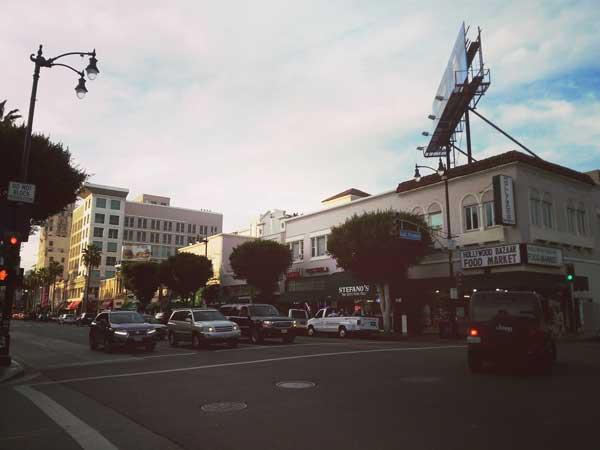 LAの観光地ブルーバードエリア