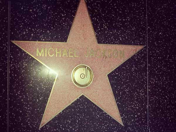 マイケルジャクソンのプレート