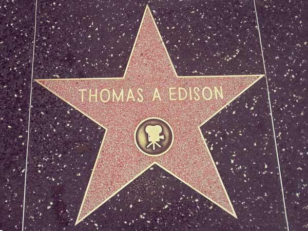 エジソンのプレート