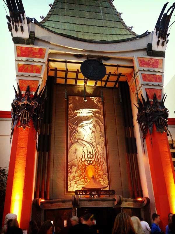 チャイニーズシアターの入り口付近