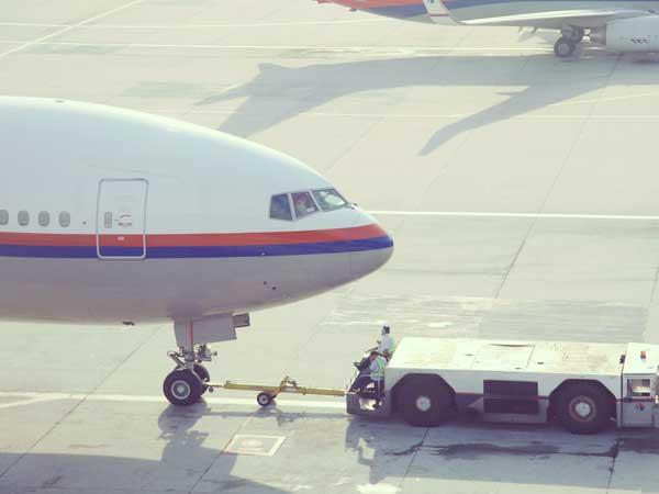 マレーシア航空の飛行機