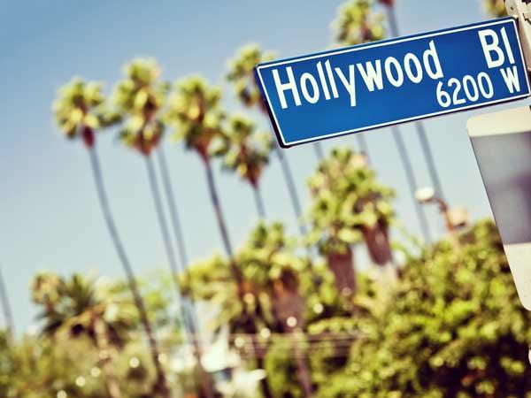 ハリウッド大通り標識