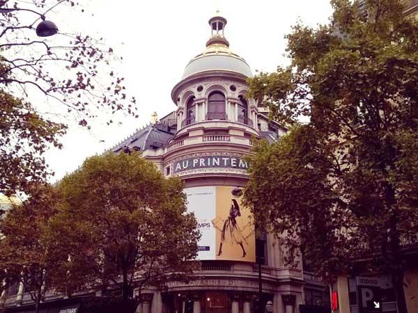 ボン・マルシェ百貨店の元店員が開業したプランタンの外観