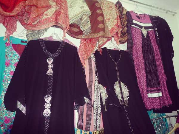 イスラム教徒の女性が着る服
