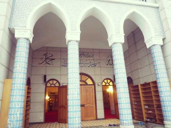イテウォンにあるモスクの入口