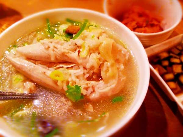 家庭で作った参鶏湯