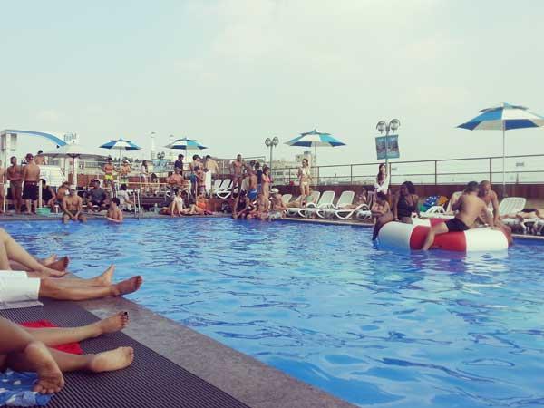 梨泰院ハミルトンホテルのプール