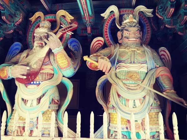 仏国寺にある仏像