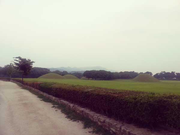 慶州の歴史遺跡地区プナンサ
