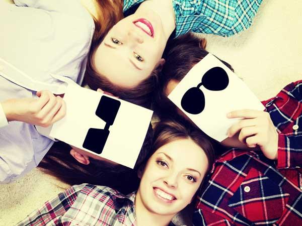 四人の友達