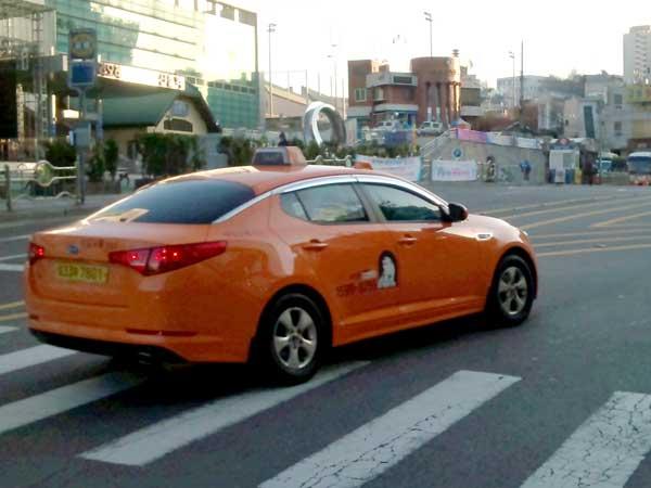 外国語対応も可能な韓国のインターナショナルタクシー