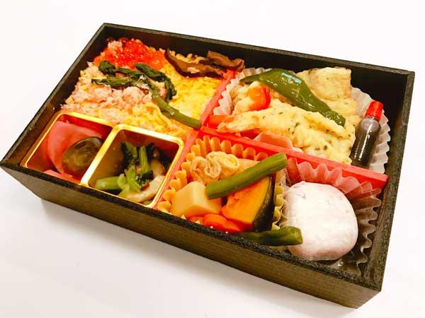 日本のおもてなし弁当の中身
