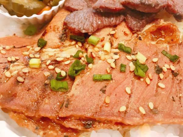 宮城県産の豚肉を使用した仙台たんとん弁当