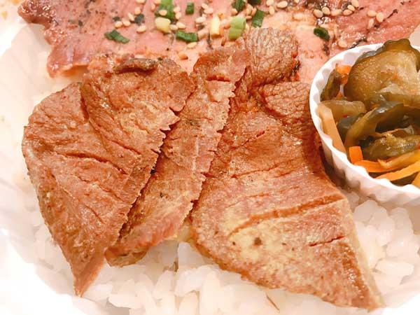 温かく柔らかい状態で食べられる仙台たんとん弁当