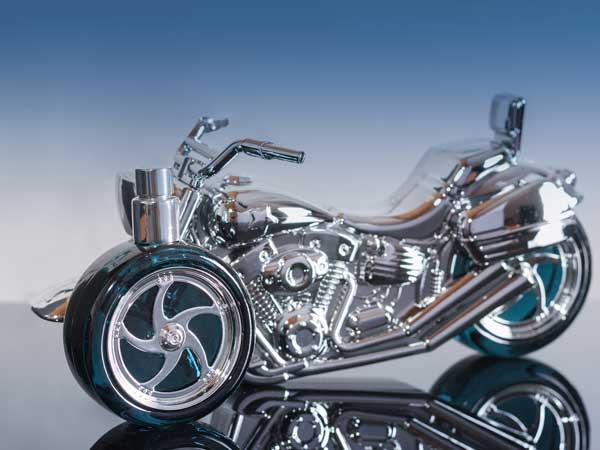 バイクのデザインの香水