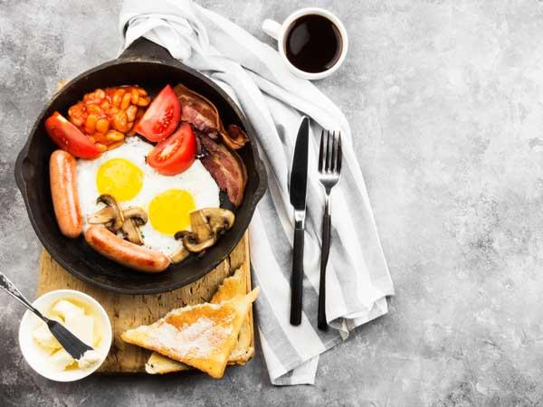 伝統的な英国の朝食