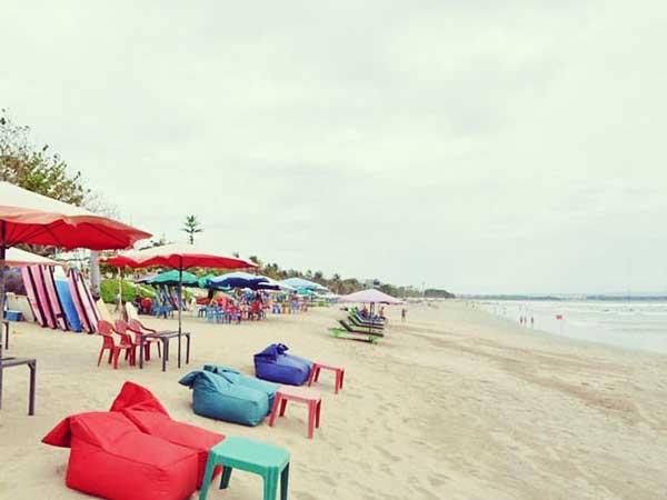 バリ島の美しいビーチ