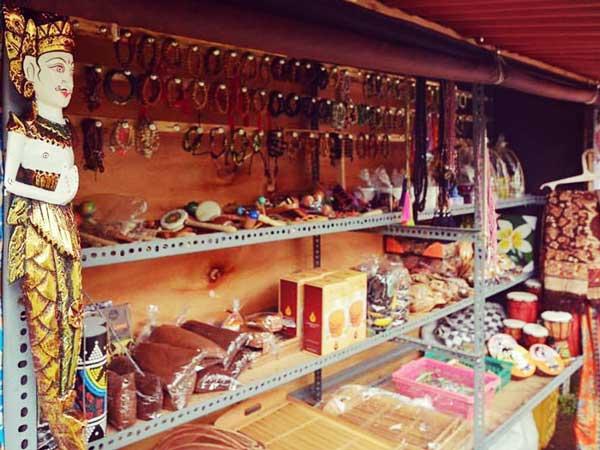 バリ島の土産店